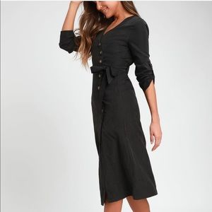 Brand New Lulu's Button Down dress